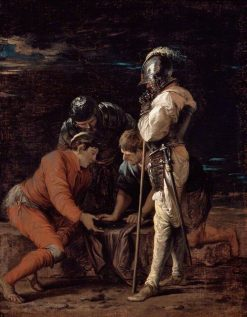 Soldiers Gambling | Salvator Rosa | Oil Painting