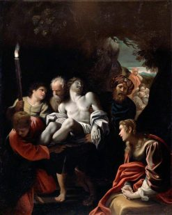 Christ Carried to the Tomb | Sisto Badalocchio | Oil Painting
