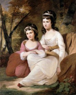 Eliza and Mary Davidson | Tilly Kettle | Oil Painting