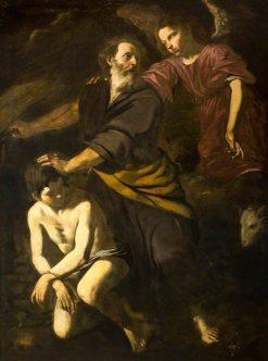 The Sacrifice of Isaac | Giovanni Battista Caracciolo | Oil Painting