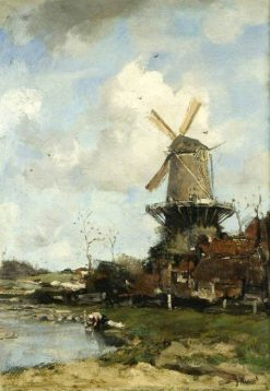 The Mill | Jacob Maris | Oil Painting