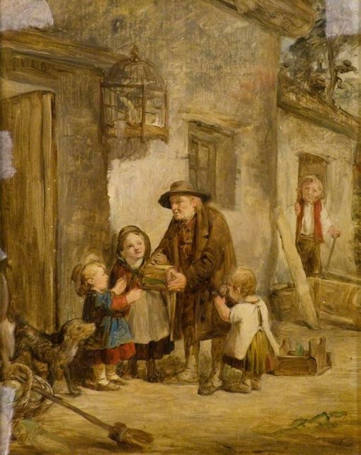 A School   John Phillip   Oil Painting