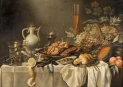 Still Life | Pieter Claesz | Oil Painting