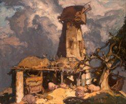 A Kentish Mill | Sir Frank William Brangwyn | Oil Painting