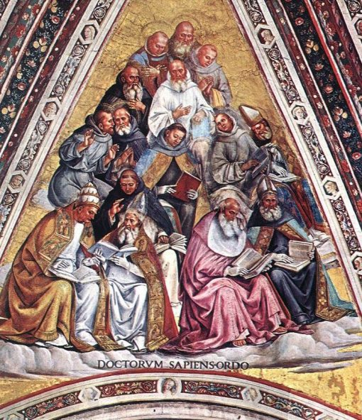 Doctors of the Church | Luca Signorelli | Oil Painting