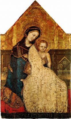 Madonna and Child | Gentile da Fabriano | Oil Painting
