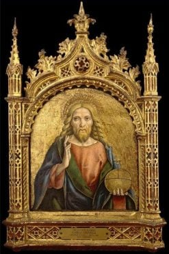 The Saviour Blessing | Carlo Crivelli | Oil Painting