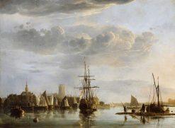View of Dordrecht | Aelbert Cuyp | Oil Painting