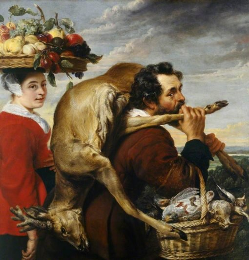Figures with Fruit and Game | Frans Snyders | Oil Painting