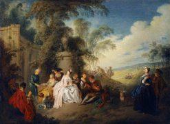 Fete Galante | Jean Baptiste Pater | Oil Painting