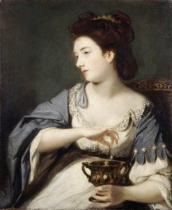 Kitty Fisher as Cleopatra | Sir Joshua Reynolds | Oil Painting
