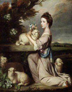 Lady Mary Leslie | Sir Joshua Reynolds | Oil Painting