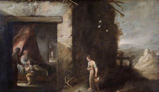 Isaac Blessing Jacob | BartolomE Esteban Murillo | Oil Painting