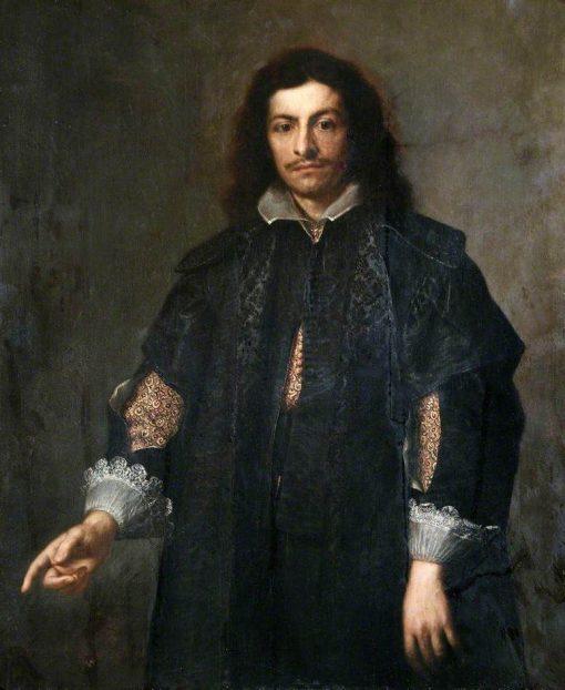 Portrait of an Unknown Man   BartolomE Esteban Murillo   Oil Painting