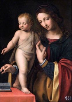 The Virgin with the Standing Child | Bernardino Luini | Oil Painting