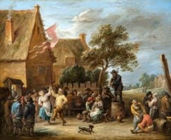 A Village Festival on St George's Day | David Teniers II | Oil Painting