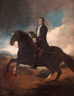 Equestrian Portrait of the 1st Duke of Wellington (1769-1852) | Francisco de Goya y Lucientes | Oil Painting