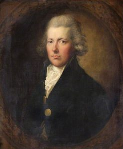 William Pitt the Younger (1759-1806) | Gainsborough Dupont | Oil Painting