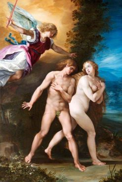 The Expulsion from Paradise | Giuseppe Cesari | Oil Painting