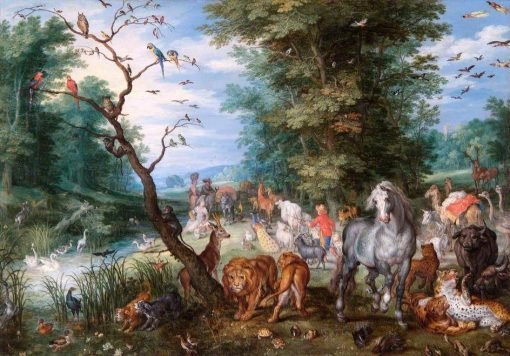Entry of Animals into the Arc | Jan Brueghel the Elder | Oil Painting