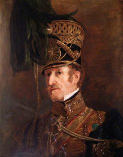 Lieutenant Colonel William Thornhill (d.after 1850) | Jan Willem Pieneman | Oil Painting