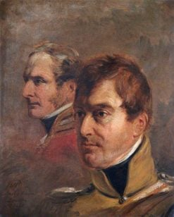 The Honourable Sir Frederick Cavendish Ponsonby KCB and Major General Sir Colin Campbell | Jan Willem Pieneman | Oil Painting
