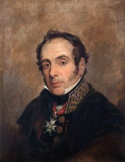 General Miguel Ricardo de Alava (1771-1843) | Jan Willem Pieneman | Oil Painting