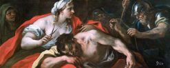 Samson and Delilah | Luca Giordano | Oil Painting
