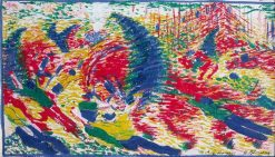 Study for 'The City Rises' | Umberto Boccioni | Oil Painting