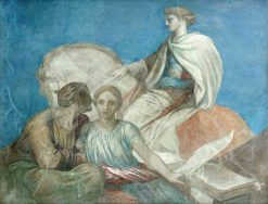 Britomart   George Frederic Watts   Oil Painting