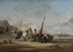 Beach Scene | William Collins | Oil Painting