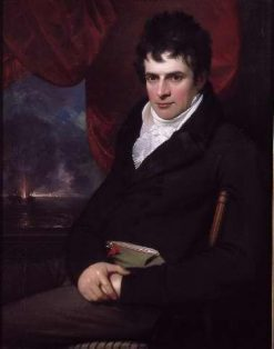 Robert Fulton | Benjamin West | Oil Painting