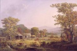 Cider Making in the Country | George Henry Durrie | Oil Painting