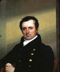 James Fenimore Cooper (1789-1851) | John Wesley Jarvis | Oil Painting