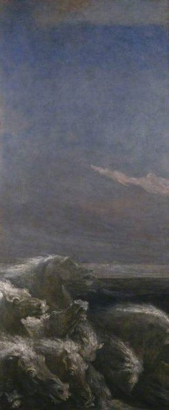 Neptune's Horses | George Frederic Watts | Oil Painting