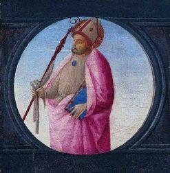 A Bishop Saint | Bartolomeo di Giovanni | Oil Painting