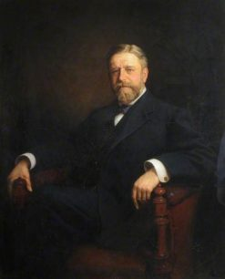 Portrait of an Unknown Gentleman   Ernest Gustave Girardot   Oil Painting