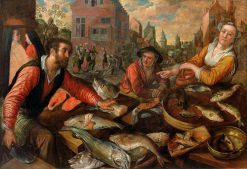 The Fish Market | Joachim Beuckelaer | Oil Painting