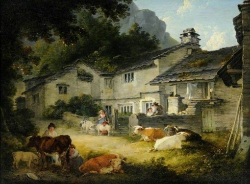 Cottages at Clappersgate near Ambleside