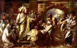 Christ Healing the Sick | Benjamin West | Oil Painting