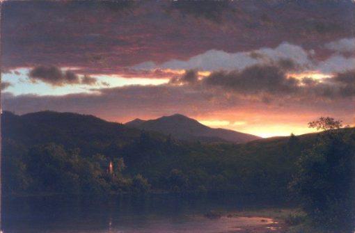 Twilight | Frederic Edwin Church | Oil Painting