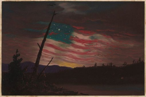 Our Banner in the Sky | Frederic Edwin Church | Oil Painting