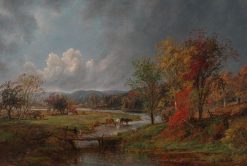October | Jasper Francis Cropsey | Oil Painting