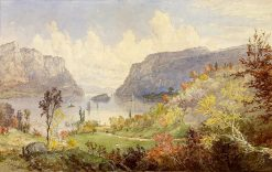 The Gates of the Hudson | Jasper Francis Cropsey | Oil Painting