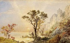 Under the Palisades | Jasper Francis Cropsey | Oil Painting