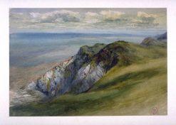Cornfield at Sunset   John William Inchbold   Oil Painting