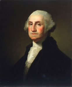 George Washington (after Gilbert Stuart) | Rembrandt Peale | Oil Painting