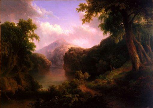 Lake of the Mountains | Thomas Doughty | Oil Painting