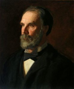 Professor William Woolsey Johnson   Thomas Eakins   Oil Painting