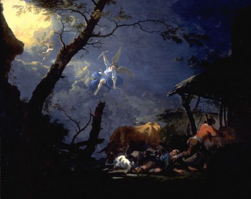 The Annunciation to the Shepherds | Adam Pynacker | Oil Painting